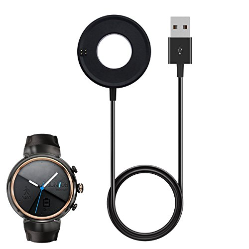 Asus Zenwatch 3 Charger Cable, Replacement Charging Cable Dock for Asus Zenwatch 3 WI503Q Smart Watch by Emilydeals (Image #3)
