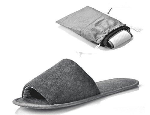 1 Sandals Pocket Washable Portable Foldable NewYork Flops Slippers Pair Men Spa Open Women Toe Flip 7qfRfO