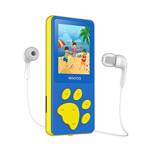 Wiwoo B4 8GB Kids MP3 Players With Game For Child Children ,Portable Cute Cartoon MP4 Player With Video / Voice Recorder / Ebook Reader, Support Up to 64GB Micro SD (Mp3 Mp4 Video Game)