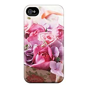 Snap-on Case Designed For Iphone 4/4s- Beauty Love For My Friends