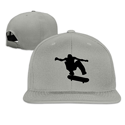 Unisex Skateboard Skater Adjustable Snapback Hats Baseball Cap