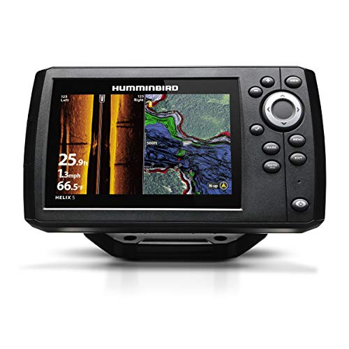 Humminbird 410230-1 Helix 5 Fish Finder, CHIRP, Si, GPS, G2