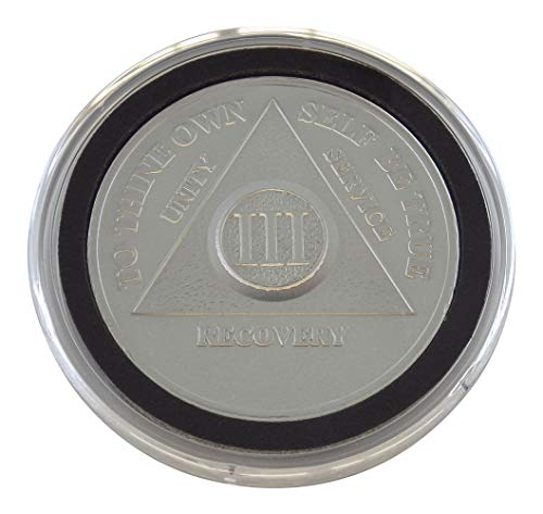 3 Year - Special AA Coins - .999 Silver AA Medallion   Recovery Shop (Silver 0.5 Coin Ounce)
