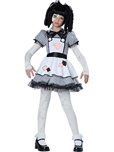 California Costumes Haunted Doll Child Costume, -