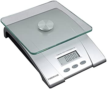 Farberware 11-Pound Electronic Glass Kitchen and Food Scale