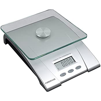 Farberware professional electronic glass for Professional food scale