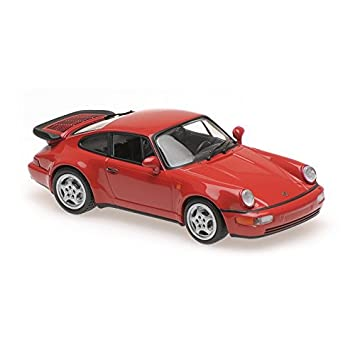 Maxichamps Porsche 911 Turbo (964), Color Rojo, 1:43 1990, 940069102: Amazon.es: Juguetes y juegos