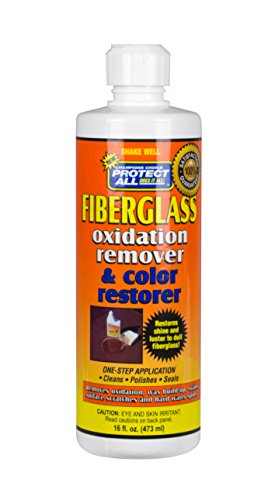 Fiberglass Oxidation Remover and Color Restorer - 16 oz - Protect All 55016