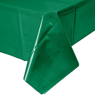 Shindigz Coral Plastic Table Cover from Shindigz