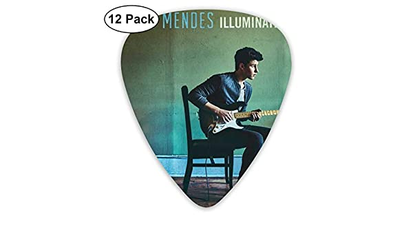 Davida Shawn Mendes - Púas para Guitarra eléctrica (12 Unidades ...
