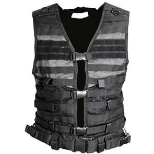 VISM by NcStar Molle Pals Vest, Black, Large (CPVL2915B)