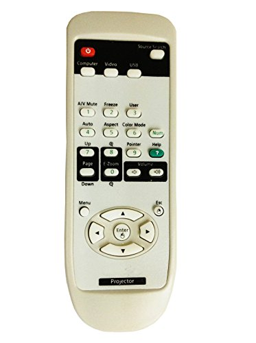 CLOB Projector Remote Control for EPSON Projector Powerlite Pro Cinema 1080 UB.