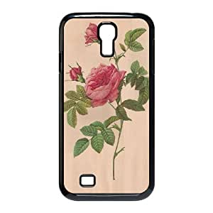 Generic FLOWER James TPU Cell Phone Cover Case for Samsung Galaxy S4 I9500 AS1W8248964