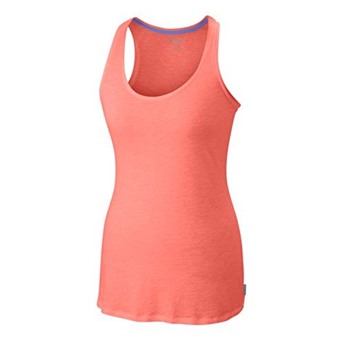 - Columbia Women's Everyday Kenzie? Tank Top Coral Flame Heather XS