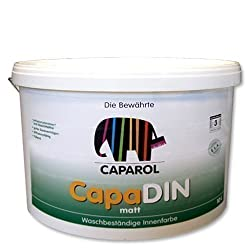 http://wandfarbe-test.de wandfarbe caparol weiss 12,5l