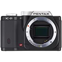 Pentax K-01 16MP APS-C CMOS Mirrorless Digital Camera [Body] (Black)