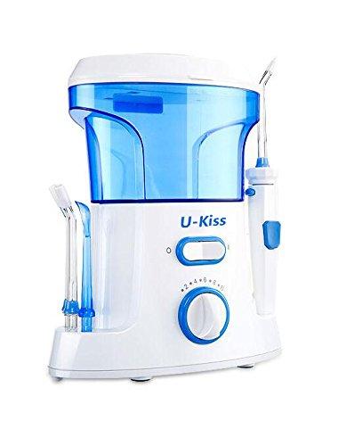 14 opinioni per Oral Irrigator, U-Kiss 10-livello Immagine pulsante getto di acqua dentale