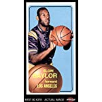 Basketball Card Deans Cards 2 1969 Topps # 35 Elgin Baylor Los Angeles Lakers GOOD Lakers