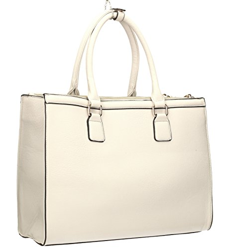 Bag Womens White Cosmo Shoulder City SWANKYSWANS Business Work Bag Naples O7xvT0wq0