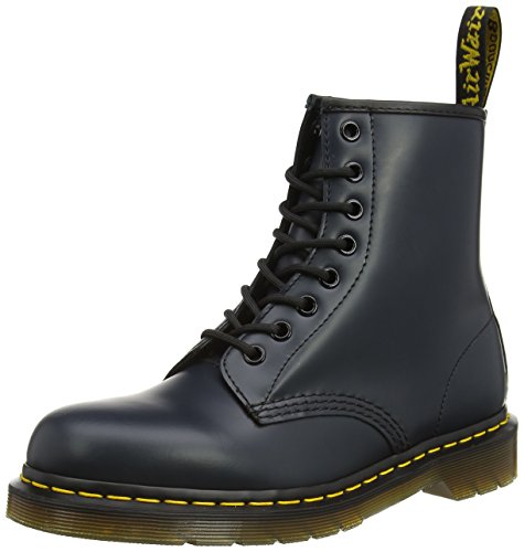 Dr. Martens 1460 Originals 8 Eye Lace Up Boot,Navy,12 UK (13 M US Mens / 14 M US - Blue Rubber Dr