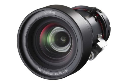 Panasonic ETDLE055 ET DLE055 - Lens - 11.9 mm - f/1.8 - for PT D5000, D6000, DW5100, DW6300, DZ6700, DZ6710 by Panasonic