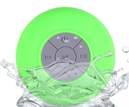 productsmexicans - Resistente al agua Bluetooth 3.0 Ducha Altavoz, Altavoz Portátil de Manos Libres con Mic Incorporado,...