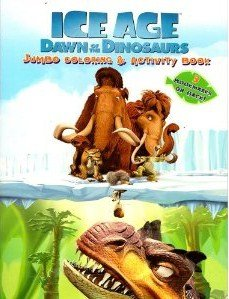 Ice Age Dawn of the Dinosaurs Coloring Book B