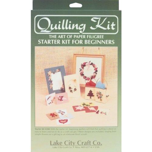 Quilling Starter Kit - 12.50'' x 9.25'' x 1.5'' 1 pcs sku# 632899MA by LAKE CITY CRAFT