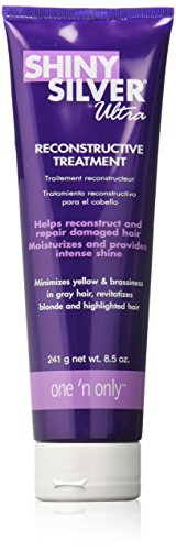 - One 'n Only Shiny Silver Reconstructive Treatment, 8.5 Ounce