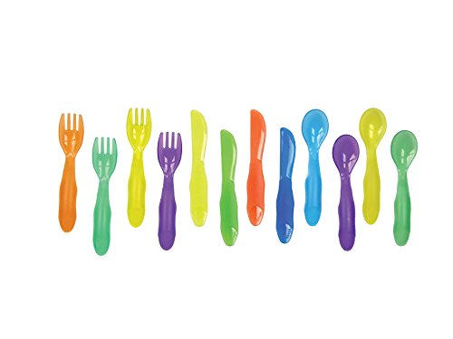 The First Years Take & Toss Toddler Flatware, 12 Pack