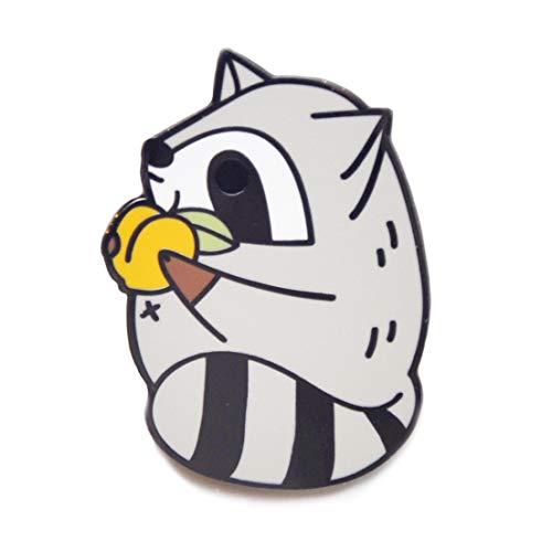 Noristudio Cute Raccoon Enamel Pin