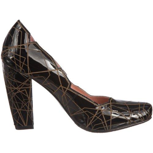 United Nude - Zapatos de charol para mujer Negro (Schwarz)