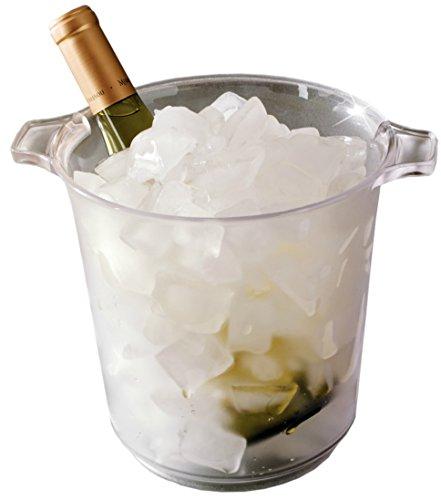 EMI Yoshi Koyal Ice Bucket, 1-Gallon, Clear, Set of 6