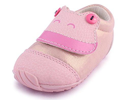 cartoonimals Babyschuhe Mädchen Jungen Neugeborene Weiche Rutschsicheren Baby Kinder Schuhe Froggy Glitter Pink