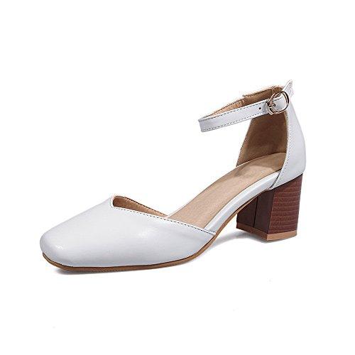 Blanc BalaMasa Femme BalaMasa Sandales Sandales Compensées gTXwv