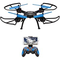 ALLCACA RC Drone HD 720P Wifi Camera FPV Remote Control Quadcopter 2.4Ghz 4CH 6-Axis Gyro RC Helicopter with Low/High/Medium Three Levels Speed,Headless Mode,Altitude Hold and One Key Return