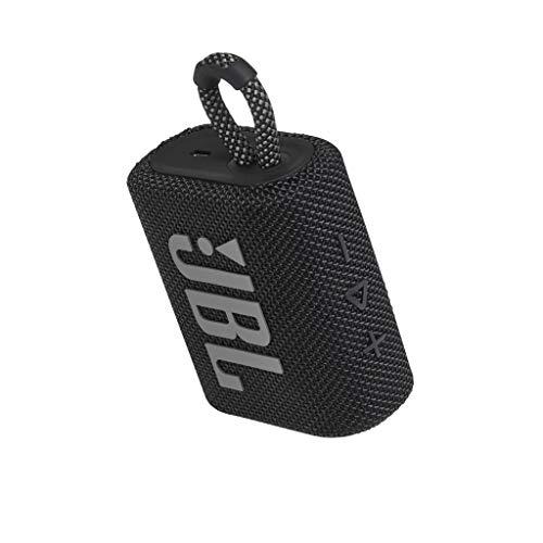 JBL GO 3 - Altavoz inalámbrico portátil con Bluetooth, resistente al agua y al polvo (IP67), hasta 5h de reproducción…