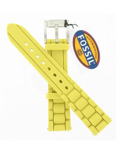 fossil-18mm-ess140-citrus-yellow-silicone-watch-band