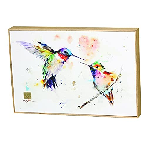 Demdaco Big Sky Carver the Lovebirds Hummingbirds Wall Art  sc 1 st  Amazon.com & Love Birds Wall Art: Amazon.com