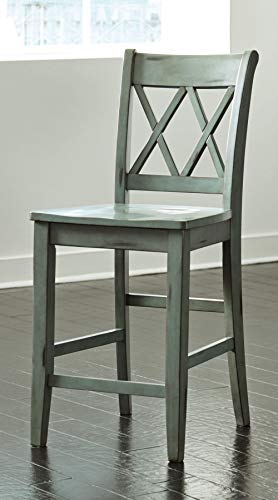 home, kitchen, furniture, game, recreation room furniture, home bar furniture,  barstools 4 discount Signature Design by Ashley - Mestler Bar Stool - Counter in USA