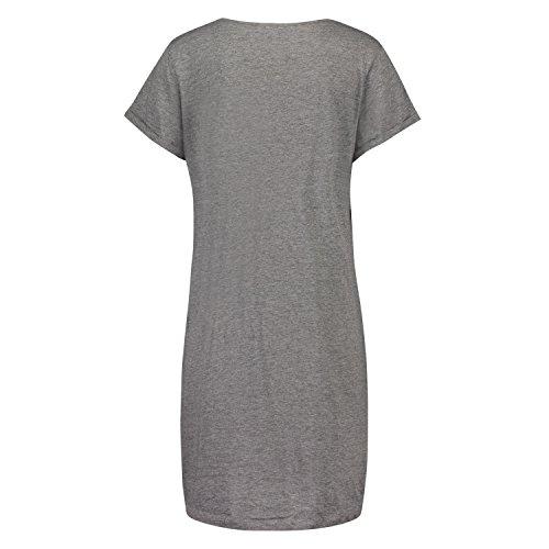 Hunkemöller Damen Nachthemd Rundhals 130517
