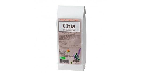 Semillas de Chia Bio 500 grs.: Amazon.es: Salud y cuidado personal