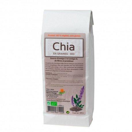 Semillas de Chia Bio 500 grs.