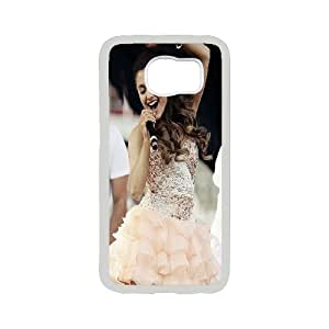 Singer Ariana Grande Pattern Productive Back Phone Case For Samsung Galaxy S6 -Style-13