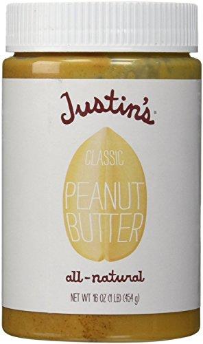 Justin's Classic Peanut Butter, 16 oz
