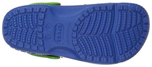 Divertente Ragazzi Clog Laboratorio Crocs C8 Jean Creatura Blu BOvqap