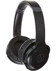 Audio Technica ATTH-S200BT BK On-Ear Bluetooth Earphones, Black