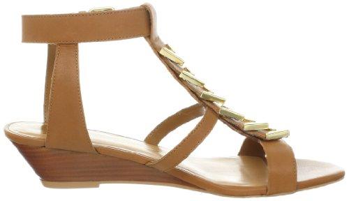 Leather Womens Wedge Dolce Dolce Cognac Sandal Vita Vita Helia x48n1