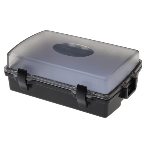 (Witz Utility Locker I-Clear Lid Waterproof Case, Black)