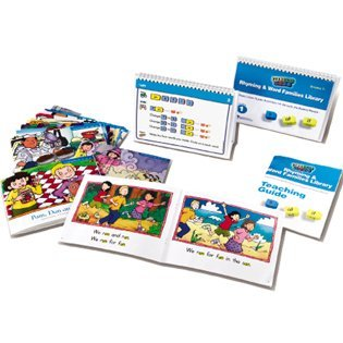 Reading Mentor Rhyming And Word Families Library by Learning Resources (Rhyming Words Word Families)